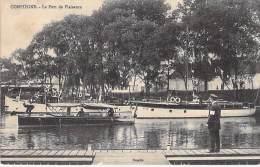 60 - COMPIEGNE : Le Port De Plaisance ( Bon Plan Bateaux De Plaisances ) - CPA - Oise - Compiegne