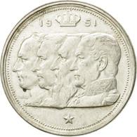 Monnaie, Belgique, 100 Francs, 100 Frank, 1951, TB+, Argent, KM:139.1 - 09. 100 Francs