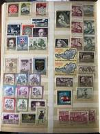 Austria Stamp Album - Approx 625 Stamps Collection - Europe (Other)