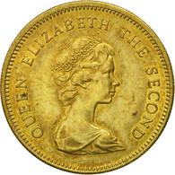 Monnaie, Hong Kong, Elizabeth II, 50 Cents, 1980, TTB, Nickel-brass, KM:41 - Hong Kong