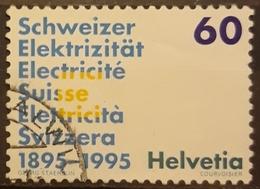 SUIZA 1995 Anniversaries. USADO - USED. - Suiza