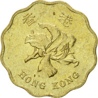 Monnaie, Hong Kong, Elizabeth II, 20 Cents, 1997, TTB, Nickel-brass, KM:67 - Hong Kong