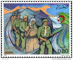 Algérie (Rep) Poste N** Yv: 825 Mi 866 - 30 ème Anniversaire De La Révolution - Algérie (1962-...)