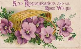 Kind Remembrances And All Good Wishes - Greetings From...