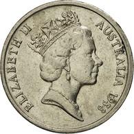 Monnaie, Australie, Elizabeth II, 5 Cents, 1988, TTB, Copper-nickel, KM:80 - Monnaie Décimale (1966-...)