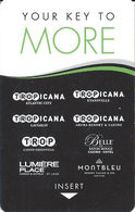 Tropicana Casinos USA - Hotel Room Key Card With C-00270153C - Hotel Keycards