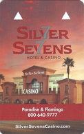 Silver Sevens Casino - Las Vegas, NV - Hotel Room Key Card - Hotel Keycards