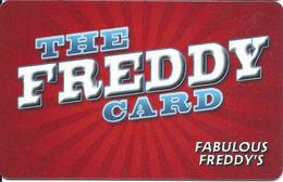 Fabulous Freddy's - Las Vegas, NV - The Freddy Card - Customer Loyalty Card - Other
