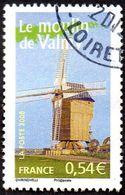 Oblitération Cachet à Date Sur Timbre De France N° 3949 - Le Moulin De Valmy - Used Stamps