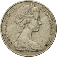 Monnaie, Australie, Elizabeth II, 20 Cents, 1978, TTB, Copper-nickel, KM:66 - Monnaie Décimale (1966-...)