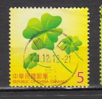 ##28, Taiwan, Trèfle, Clover - 1945-... Republik China