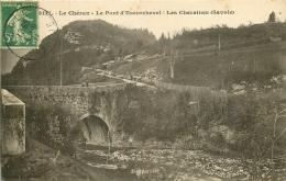 73 LE CHERAN. Le Pont D'Escorchevel Et Les Cheraines 1914 - Autres Communes