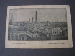 PL Lodz Karte 1917 Feldpost - Polen
