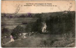 41mb 96 CPA - MONTBAZON - VUE PRISE DU COTEAU DE BOSCIBEAU - Montbazon