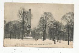Cp ,54 , NANCY  Sous La Neige , Cours LEOPOLD, Monument CARNOT , Voyagée 1915 - Nancy