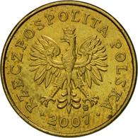 Monnaie, Pologne, 2 Grosze, 2007, Warsaw, TTB, Laiton, KM:277 - Pologne