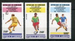8006  CAMEROUN  PA 327/9 **  Championnats D'Europe De Football     1984    TTB - Camerun (1960-...)