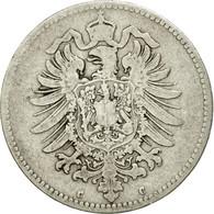 Monnaie, GERMANY - EMPIRE, Wilhelm I, Mark, 1875, Frankfurt, TTB, Argent, KM:7 - [ 2] 1871-1918: Deutsches Kaiserreich