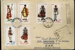 Rumänien Romanal 1968 - Trachten - MiNr 2732-2737 Auf Brief - Kostüme