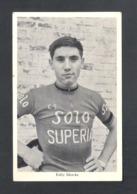 WIELRENNER  EDDY MERCKX -  SOLO SUPERIA - FOTOKAART  (9963) - Cycling