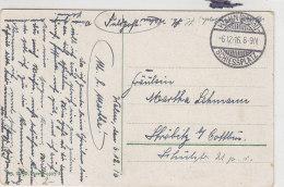 Feldpostkarte Vom SCHIESSPLATZ WAHN 6.12.16 - Briefe U. Dokumente