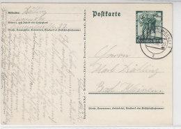 Ganzsache Aus SCHWERIN 9.1.38 - Briefe U. Dokumente