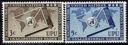 UNITED NATIONS # NEW YORK FROM 1953 STAMPWORLD 21-22* - New York - Sede De La Organización De Las NU