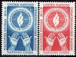 UNITED NATIONS # NEW YORK FROM 1953 STAMPWORLD 25-26* - Ungebraucht