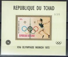 Tchad Tschad 1972 - Olympische Sommerspiele - Laufen - MiNr Block B49 (583A) - Leichtathletik