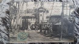 VANNES - CPA Super - ILE DE CONLEAU - LE GRAND CAFE - TRES BELLE ANIMATION EDIT. H. LAURENT PORT LOUIS - Vannes