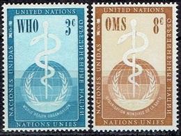 UNITED NATIONS # NEW YORK FROM 1955 STAMPWORLD 49-50* - New York - Sede De La Organización De Las NU