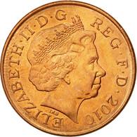 Monnaie, Grande-Bretagne, Elizabeth II, 2 Pence, 2010, TTB, Copper Plated Steel - 1971-… : Monnaies Décimales