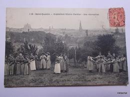 SAINT QUENTIN-Orphelinat Hilaire Cordier-Une Récréation - Saint Quentin