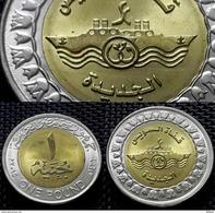 Egypt - 1 Pound - 2015 - New Branch Of Suez Chanel -KM 1001 - UNC - Egipto
