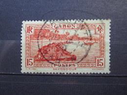 """VEND BEAU TIMBRE DU GABON N° 130 , CACHET """" PORT-GENTIL """" !!! - Gabon (1886-1936)"""