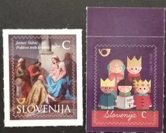 Slovenia 2015 Christmas And  New Year Pair POSTAGE FEE TO BE ADDED ON ALL ITEMS - Slovenia