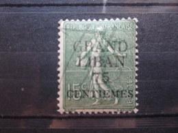 VEND BEAU TIMBRE DU GRAND LIBAN N° 4 , X !!! - Great Lebanon (1924-1945)