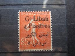 VEND BEAU TIMBRE DU GRAND LIBAN N° 35 , X !!! - Great Lebanon (1924-1945)