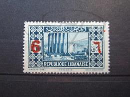 VEND BEAU TIMBRE DU GRAND LIBAN N° 159 , X !!! - Great Lebanon (1924-1945)