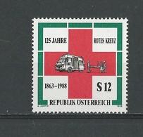 Autriche: 1750 **  Croix-Rouge - 1945-.... 2ème République