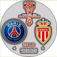 Pin Super Cup France 2018 Paris Saint-Germain Vs AC Monaco - Fútbol