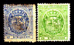 Filippine-0048 - Telegrafo 1894-95 (o/sg) Used/NG - Senza Difetti Occulti. - Philippines