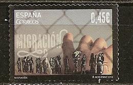 Espagne Spain  2016 Migration Obl - 1931-Hoy: 2ª República - ... Juan Carlos I