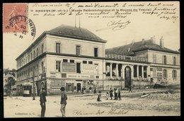 Angers - Le Musée Paléontologique Et La Bourse Du Travail - Angers