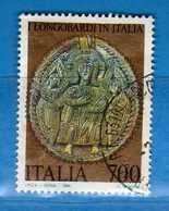 ITALIA ° Anno 1990 -  Patrimonio Artistico E Culturale, ARA Di RACHIS. Unif. 1958.  Vedi Descrizione. - 6. 1946-.. Republik