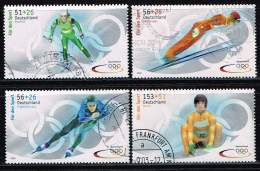 Bund 2002, Michel# 2237 - 2240 O - [7] République Fédérale