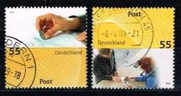 Bund 2009, Michel# 2723 - 2724 O Post - [7] République Fédérale