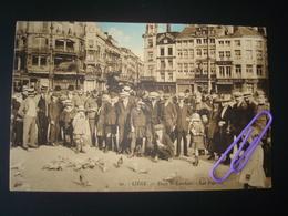 Liège : Place ST-LAMBERT - Les Pigeons En 1930 - Luik