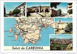 SALUTI DA CARBONIA   VIAGGIATA FG - Carbonia