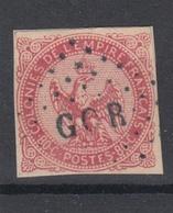 #130# COLONIES GENERALES N° 6 Oblitéré Losange GOR (Gorée) - Eagle And Crown